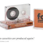 RCORDING THE MASTERS がカセットテープを新発売!